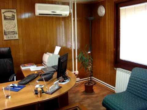 My Office at Skopje