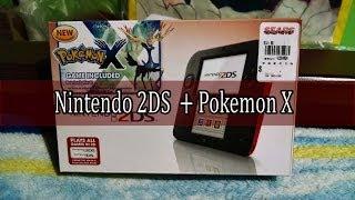 Nintendo 2DS + Pokemon X/Y | Unboxing En Español Thumbnail