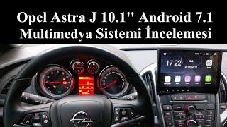 Opel Astra J 10.1 inç Multimedya İncelemesi
