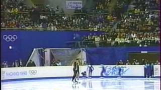 1998 Pairs Elena Berezhnaya & Anton Sikharulidze EX