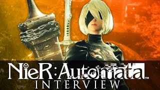 NieR: Automata - Interview mit Yoko Taro & Yosuke Saito -  Hooked