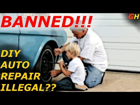 Counties And Cities Are Banning The DIY's Right To Repair!!
