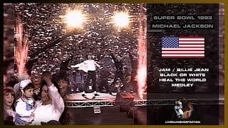Michael Jackson - Super Bowl 1993 Performance - HD
