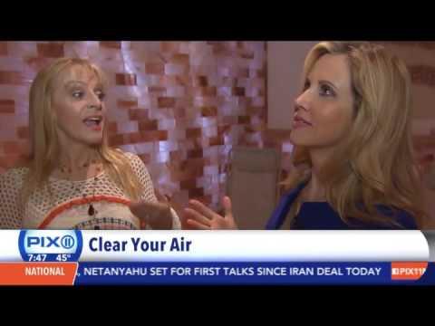 Breathe Salt Rooms on PIX 11 Morning News