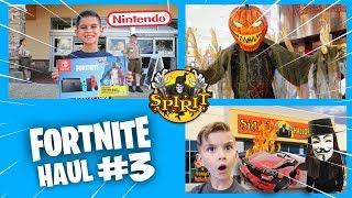 EPIC Spirit, Nintendo Fortnite Haul! The Hacker Crashed Our Car?