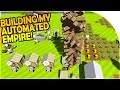 BUILDING our OWN AUTOMATED EMPIRE! - AWESOME, FREE Colony Survival?! - Autonauts Gameplay Part 1