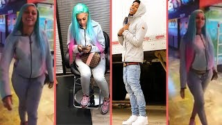 NBA YoungBoy Girlfriend/Baby Mama Jania Shows How Big Her Belly Has Got Since Pregnancy and New Look
