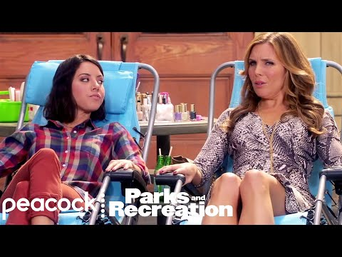 April Meets Tynnyfer - Parks and Recreation