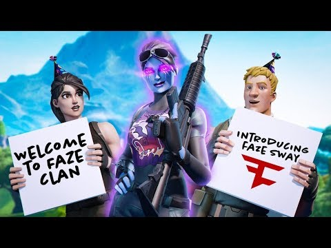 Introducing FaZe Sway
