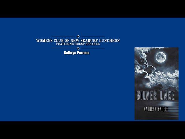 Women's Club of New Seabury presents, Author Katheryn Perrone-October 2020