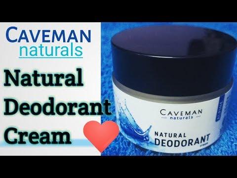 Caveman Naturals - Natural Deodorant Cream (Alpine) Review in Hindi