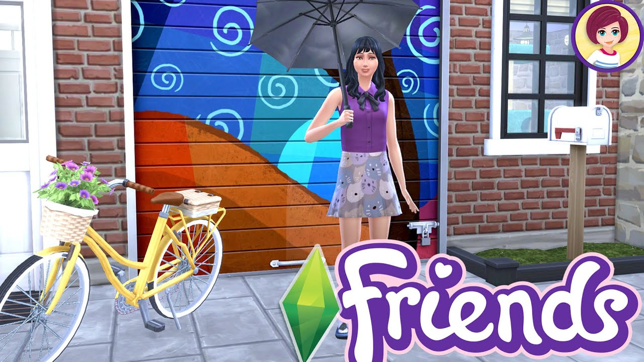 Download Well, Emma finished the mural 🤷🏻♀️ (Lego Friends Sims Rags to Renovation Pt 2)