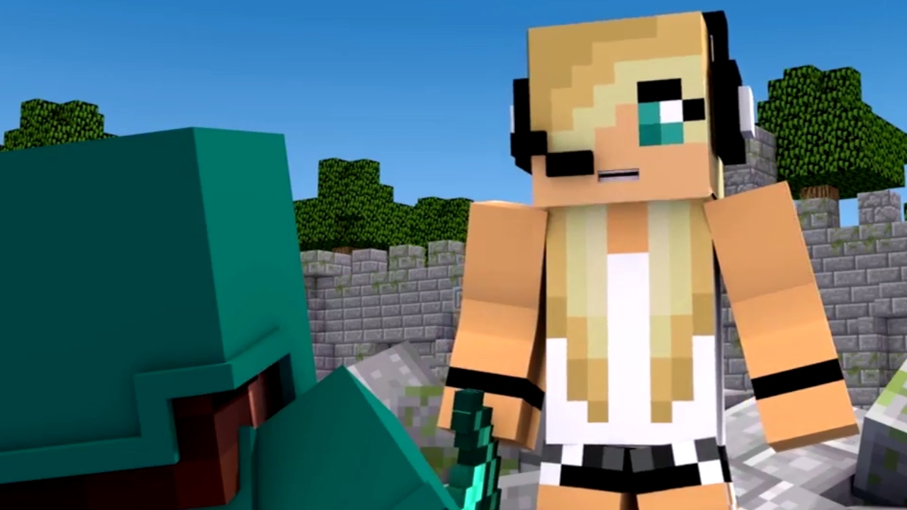 Minecraft Song 1 Hour Version Quot Fight Like A Girl Quot Psycho