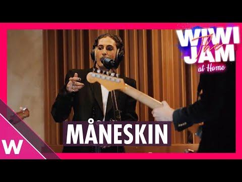 Måneskin (Italy Eurovision 2021)  ?Zitti E Buoni? & ?I Wanna Be Your Slave? | Wiwi Jam at Home