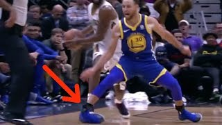 OUCH! Steph Curry Suffers NASTY Ankle Injury vs Pelicans