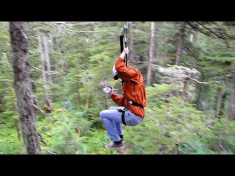 Alaska ZipLine Adventures with Levi