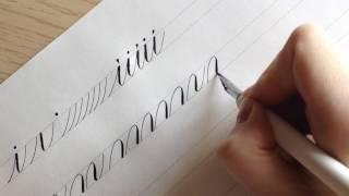 Каллиграфия. КАК ПИСАТЬ БУКВЫ? Часть 1.(Мы начнем с вами писать с латиницы, так как это более понятный вид письменности для начала. Позже приступим..., 2017-03-01T20:03:28.000Z)