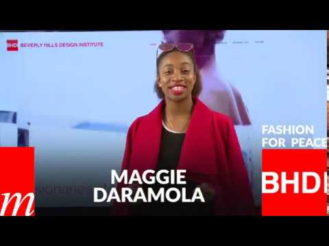 Watch Maggie Daramola's message on Fashion for Peace