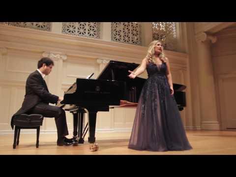 Nikoleta Rallis and Aza Sydykov perform Song to the Moon by Dvorak