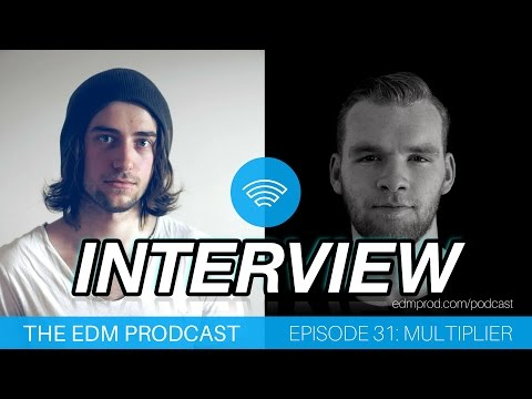 EDMProd Interview - Ep 31 with Multiplier | How to Learn Sound Design & Set Realistic Goals