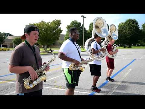 Churchland High School Marching Truckers- Band Camp