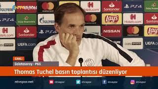 CANLI - Thomas Tuchel, Galatasaray maçı öncesi basın toplantısı düzenliyor
