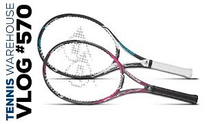 Sneak Peek of new Dunlop Srixon Racquets -- VLOG #570