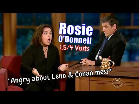 Rosie O'Donnell - Solid Guest - 1.5/4 Visits In Chronological Order