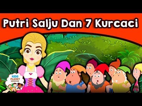 Putri Salju Dan 7 Kurcaci - Dongeng Bahasa Indonesia | Cerita Dongeng | Kartun Anak | Dongeng Anak