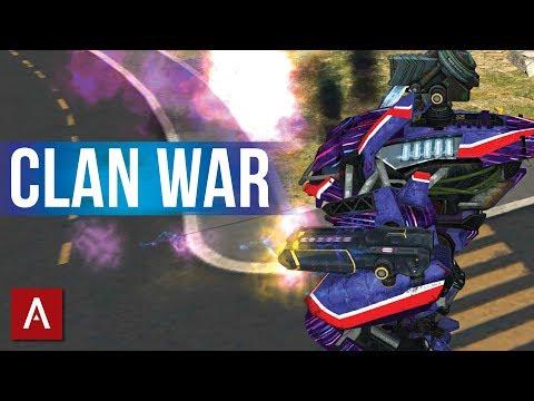 Top iOS Clan War VØX vs 1 Percent | War Robots Epic Clan Battle Gameplay
