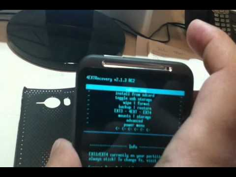 How to Flash a Custom ROM on Android, HTC Inspire 4G, Desire HD