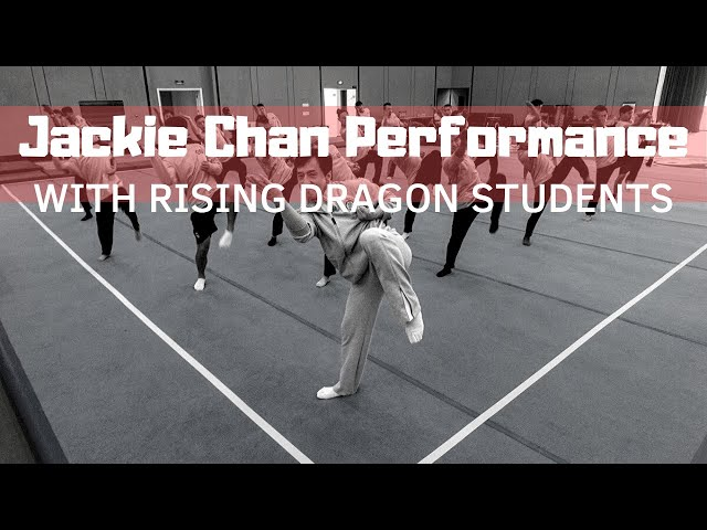 Jackie Chan Performance - 2010 Sportaccord Combat Games