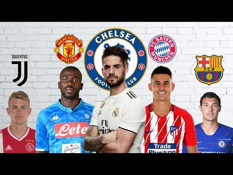 January Transfer News | Isco to Chelsea, Koulibaly to Man United and more