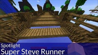 Spotlight: Super Steve Runner Minecraft Map
