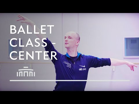 Ballet Class - Centre work - Dutch National Ballet