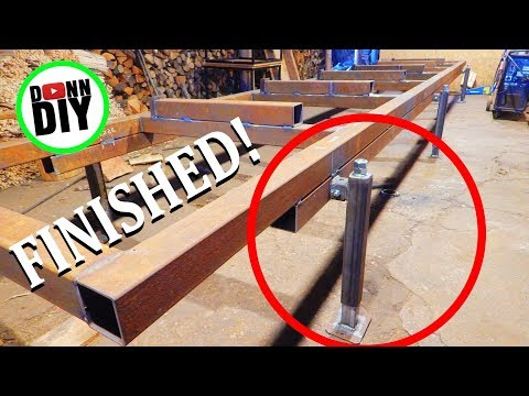 Jack Stands Finished - Band Sawmill Build #5