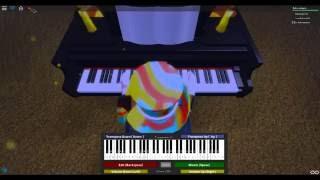 [Roblox Piano Cover] To Zanarkand *UPDATED*