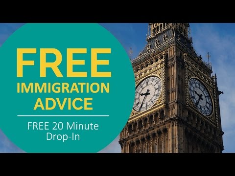 FREE Immigration Advice - 20 Minute Drop In, Bolton UK