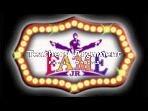 Fame Jr - Teachers' Argument - Audition