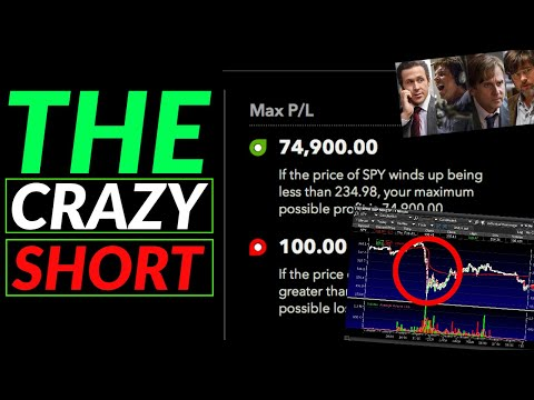 I Just Bought A $150 Trade With A Max Profit Of $75,000 – My Watchlist – THE STOCK MARKET WENT CRAZY