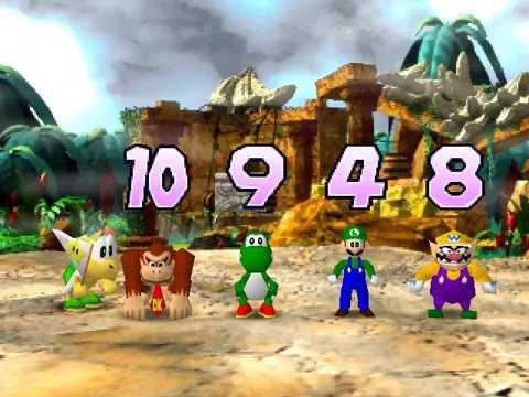 Nintendo 64 Longplay [063] Mario Party (Part 1 of 3)