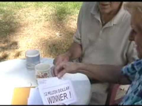 Scams -- Foreign Lottery Scams
