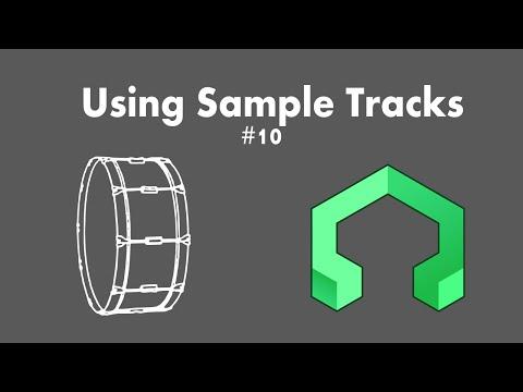LMMS Tutorial 10: Sample Tracks