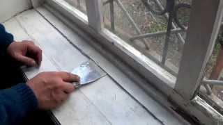 Как затереть акриловый герметик(Акриловый герметик или современная оконная замазка (замешанная на том же акриле) хороши тем, что качественн..., 2014-10-01T20:08:23.000Z)