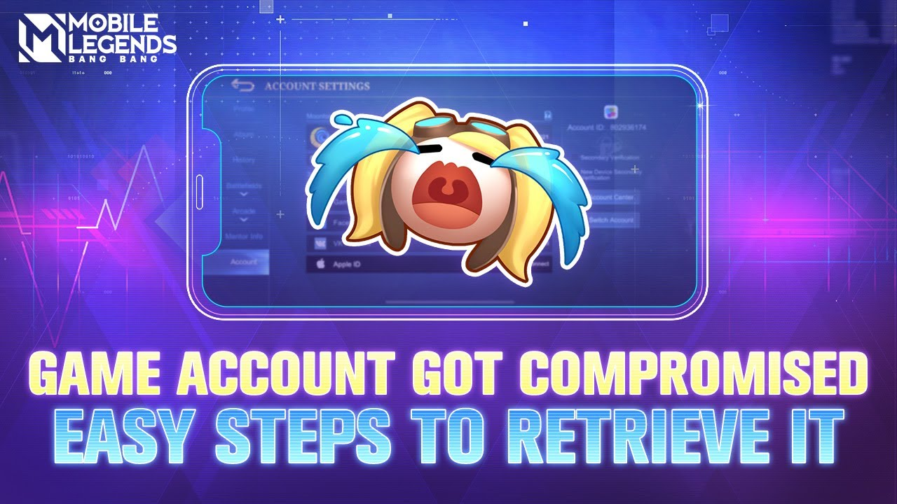 Improve Account Security | Mobile Legends: Bang Bang