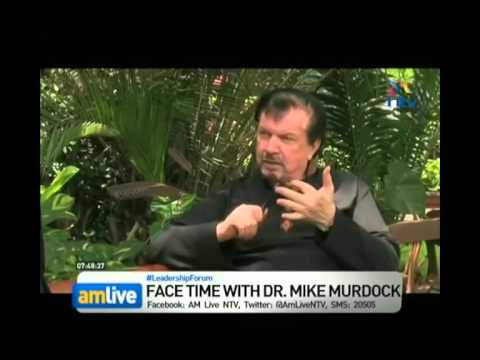 Interview in Kenya with Dr Mike Murdock /@drmikemurdock