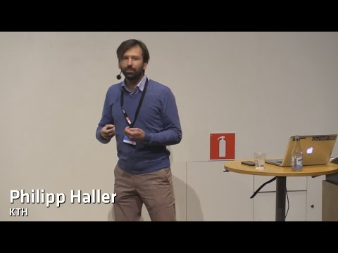 Safe and Scalable Concurrent Programming in Scala - Philipp Haller