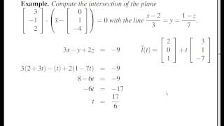 Concise Modular Calculus [71/97]: Planes (3/6 on Surfaces in 3-D Space)