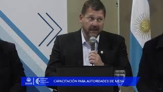 Capacitaciones para Autoridades de Mesa para las PASO 2017