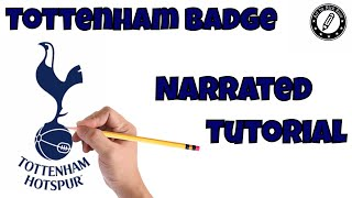 |Draw Best Soccer Badges|Draw Football logos|Draw Top 10 Football badges| Tottenham Badge